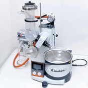 Heidolph Hei-VAP Rotary Evaporator w/ Dry Ice Condenser Glassware, Vacuum Pump
