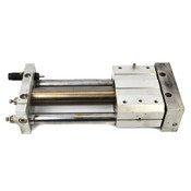 """SMC NCY2S40H-0700B Magnetically Coupled Rodless Cylinder 40mm Bore 7"""" Stroke"""