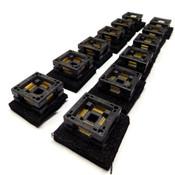 Wells-CTI 7012-080-1-08A-712C Open-Top IC Test Socket QFP (12)
