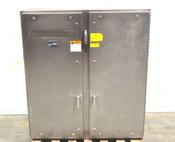 "Industrial 2-Door Electrical Control Panelboard Enclosure 48""W x 17""D x 54""H SS"