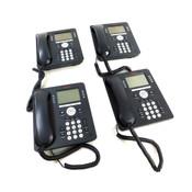 Avaya 9608 IP Business Telephones 8-Lines & 4 Softkeys w/ Handsets (4)