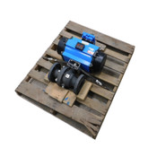 """Rotex ECV201SR-80 Rack & Pinion Actuator 3"""" Flange Rotex DNLF6A2-6R Limit Switch"""