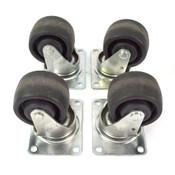 Colson 3-Inch Heavy Duty Steel Swivel Caster (4)