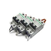 (Lot of 3) Schneider Electric Multi-9 C 15A 2-Pole C60 Circuit Breakers (17446)