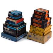 TRW, Delco, Timken, ect. Assorted Ball/Roller Bearings