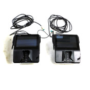 Verifone MX 925CTLS Credit Card Payment Terminals w/ Stylus' & Stands (2)