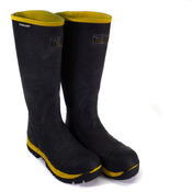 Skellerup Quatro FQS4 Insulated Safety Boots Size 6