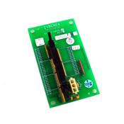 Cyberex 41-09-604511 Rev I Printed Circuit Board Terminator Assembly 50-Pin