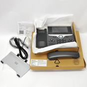 Cisco CP-8851 VoIP Phone Base, Handset, Cables