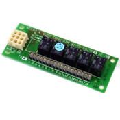 Cyberex 41-05-600307 Rev A Relay & CUST CONN ASM Board