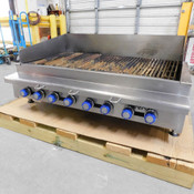 """Imperial IRB-48 Radiant Char-Broiler 48"""" Wide Tabletop Gas Grill"""