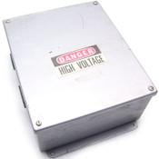 Hoffman J & P Box 12x10x5 w/Allen Bradley 100A 600V X-Fuse Block w/ 3 Gould Fuse