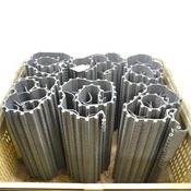 Habasit HDU620 Plastic Conveyor Belt w/ Flights