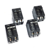 GE THQB LM 20 Amp 2-Pole Molded Case 20A Circuit Breaker 120/240VAC (4)