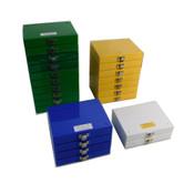Electron Microscopy Sciences 71470 100 Cap. Slide Boxes 4 Colors (23)