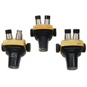 Leica Leitz SZ4/SZ-4 StereoZoom Microscope Pod Heads - Parts (3)