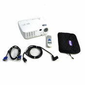NP115 DLP SVGA Conference Room Projector Unit w/Remote & Cables 2500 Lumens