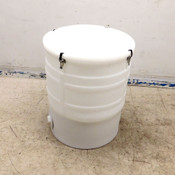Thermo Scientific SV50517.12 HyPerforma Mixtainer 100 Liter Conical Drum White
