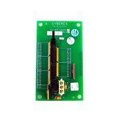 Cyberex 41-09-604511 50-Pin Terminator Printed Circuit Board Assembly REV I