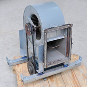 Lau 02869422P BL A10-6ACD .75BB Blower with Reliance 3HP 3phase 230/460 AC Motor