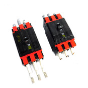 Square D DP-4075 60 Amp 3-Pole Molded Case Circuit Breakers 240VAC (2)