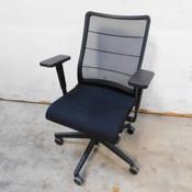 Interstuhl 3C42U Airpad Task Chair Ergonomic Office Chair Lucia Black
