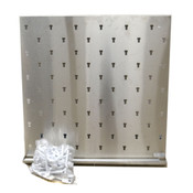 Inter Dyne Systems Victory V3636 Stainless Pegboard
