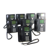 Avaya 9630G IP Business Conference Telephones PoE w/Stands & Handsets (8)