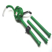 """NEW Dayton 3BY41 Polypropylene 1"""" OD Hand Operated 8 GPM Rotary Drum Pump"""