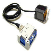 Keyence N-48 Communication Unit 24VDC w/ BL-701 Laser Barcode Scanner/Reader