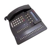 (Lot of 3) Avaya 6424D+ Digital Business IP Conference Phones w/ Handsets+Stands