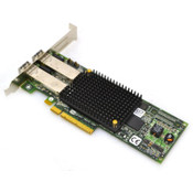 Emulex LightPulse LPE12002 Dual Channel Host Bus Adapter w/ (2) Finisar Modules