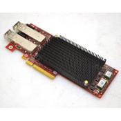 Emulex P005299-01B Dual-Port Fiber Channel Adapter 8Gbps w/ 2 FTLF8528P2BNV-EM