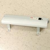 """Hoffman ALF16D18R 18"""" 115V Damp Location Fluorescent Light Fixture +Brackets"""