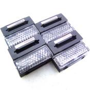 Lot of 8 Omron E39-R41 Photoelectric Sensor Reflectors 2mm Diameter 200mm Dist.