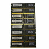 Micron 16GB (8x2GB) MT36HTF25672PY HP 405476-051 PC2-5300P ECC Server Memory