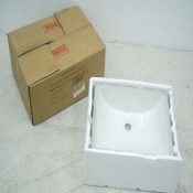 "NEW Lenova LN PU-02-BQ Undermount Lavatory Sink Rectangular 19-1/2"" x 15-1/2"""