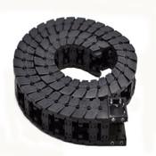 "Igus E6.40.02.063 53""(L) Wire/Flex Cable Carrier Drag E-Chain w/E6.400.10/11 End"