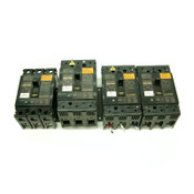 (4) Mitsubishi Electric NF-SF3015 No Fuse 3-Pole 15A Circuit Breakers NF-SF