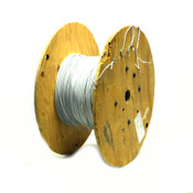 1240' 16 AWG 1 Conductor 19/29 Strand 600V Shielded Mil-Spec M27500 Copper Wire