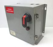 Marcie GN2000-LR 2kVA 1-PhTransformer Disconnect Box Pri:460V Sec:115V Fused