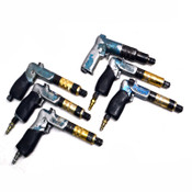 "(6) Cleco Various Pneumatic Pistol Grip 1/4"" Air Screwdrivers/Nutrunners (AS/IS)"
