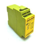 Pilz Pnoz X3 24VAC 24VDC Safety Relay 5,0 VA 2,5 Watt 50/60 Hz 10AF/6 AT