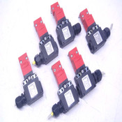Lot of 6 Pizzato FX 2093-D2 400VAC 3A Interlock Limit Switches w/ Keys