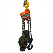 OZ Lifting OZ030-20CHOP Manual 3-Ton Fall Chain 6000# Hoist w/ 20' Lift Chain