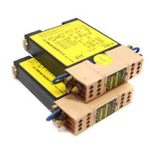 (Lot of 2) Jokab E1T-0s Safety Expansion Relays 24VDC/10V ABB Relay Outputs 4NO
