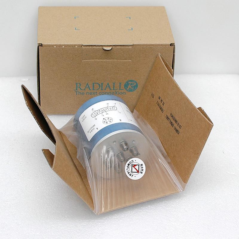 NEW Radiall DC-18GHz SMA Microwave Switch 50 Ohms R573 403