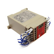 Omron G9SA-501 Safety Relay Unit 24V AC/DC Dual Channel 5A DIN Mount