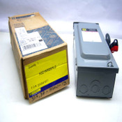 NEW Square D H321NRBSPLO Series F05 30A Fusible Heavy Duty Safety Switch