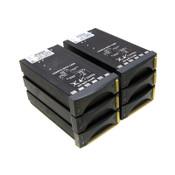 (Lot of 6) NetApp XLPSU-NR1-D Rev. D Power Supply Modules 100-240V